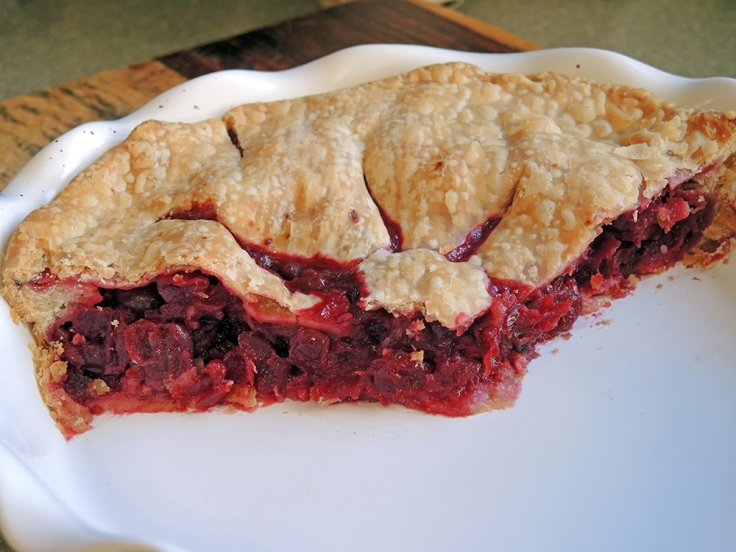 Man Fuel - Food Blog - Cranberry Pie - Filling