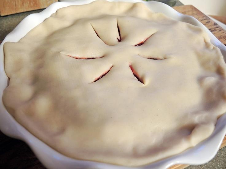 Man Fuel - Food Blog - Cranberry Pie Vents