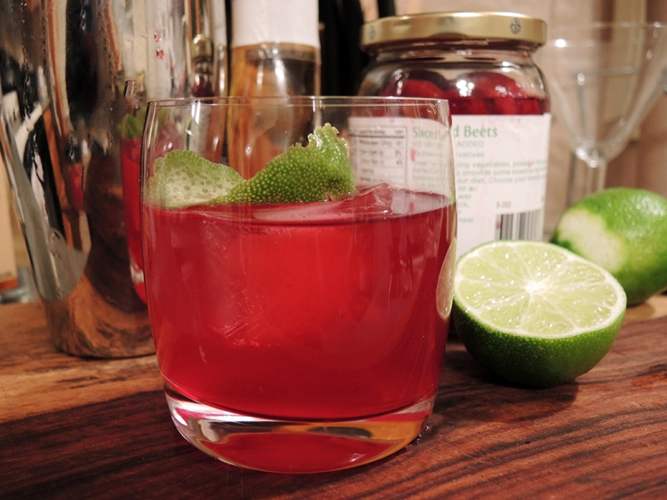 Man Fuel - Food Blog - Tequila and Beet Juice Cocktail