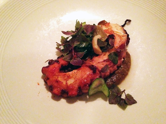 Man Fuel Food Blog - Craigie on Main - Camrbidge, MA - Octopus