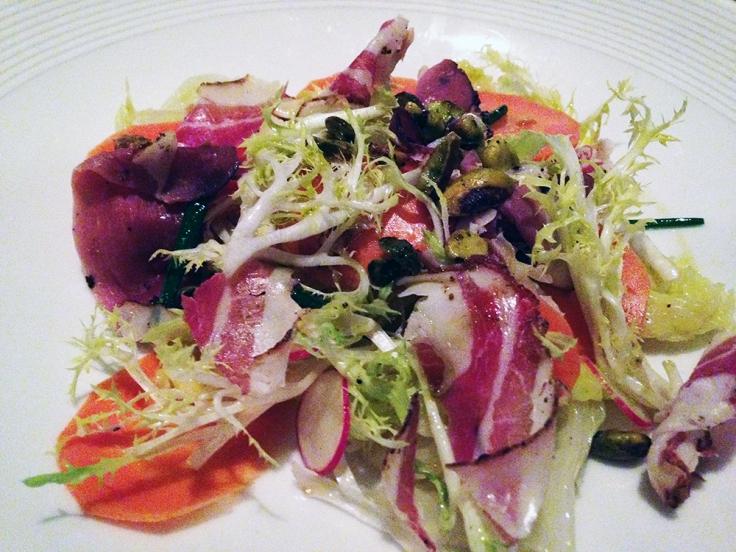 Man Fuel Food Blog - Craigie on Main - Camrbidge, MA - Salad