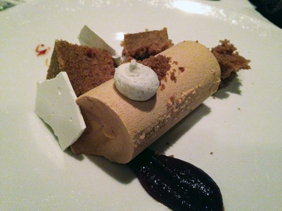 Man Fuel Food Blog - Craigie on Main - Camrbidge, MA - Walnut Mousse
