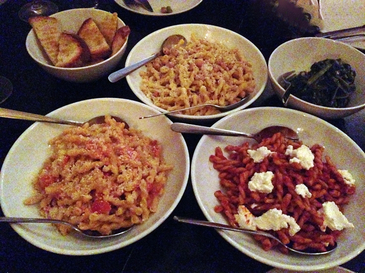 Man Fuel - Food Blog - Enoteca Umberto - Providence, R - Pasta Three WaysI