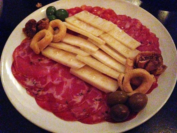 Man Fuel - Food Blog - Enoteca Umberto - Providence, RI - Cheese and Salumi Plate