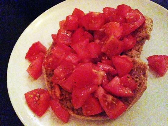 Man Fuel - Food Blog - Enoteca Umberto - Providence, RI - Freselle Pomodoro