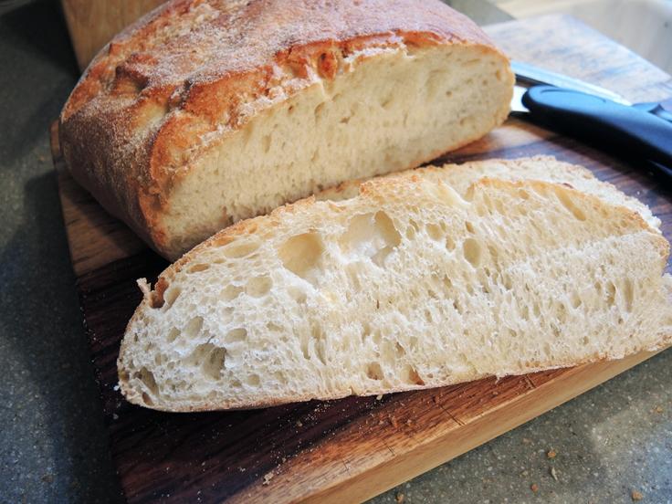 Man Fuel Food Blog - Fresh Sliced Bread
