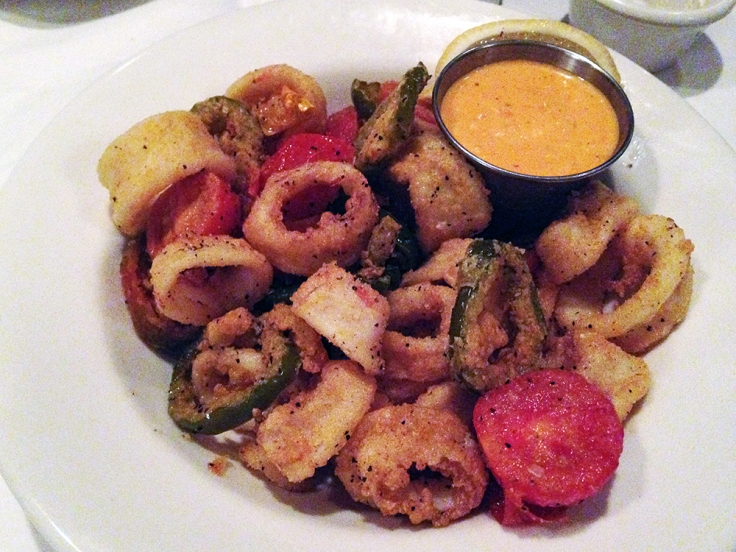 Man Fuel Food Blog - Red Stripe - Providence, RI - Calamari