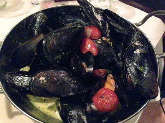 Man Fuel Food Blog - Red Stripe - Providence, RI - Mussels