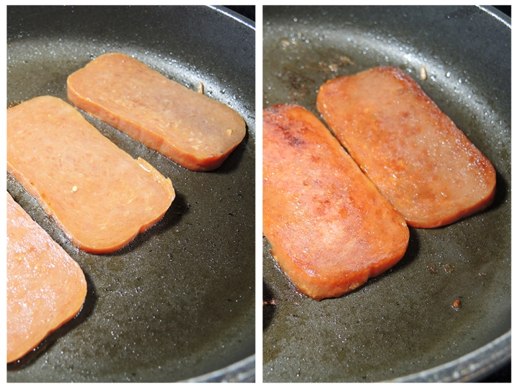 Man Fuel Food Blog - Spam Musubi Recipe - Grilled Spam