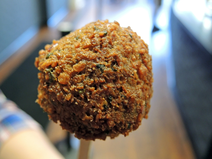 Man Fuel - Food Blog - Amsterdam Falafel Shop - Boston, MA - Falafel Ball