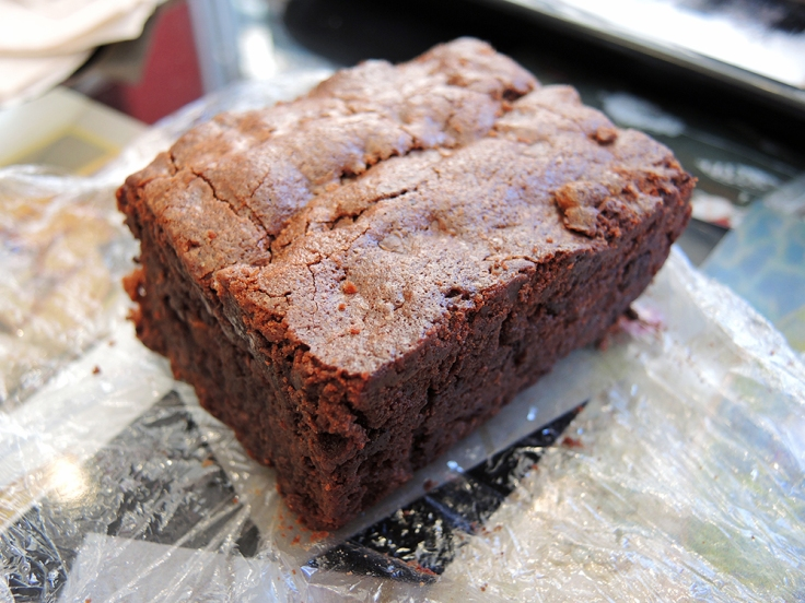 Man Fuel - Food Blog - Amsterdam Falafel Shop - Boston, MA - Virgin Brownie
