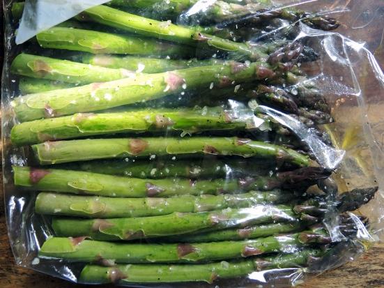 Man Fuel - Food Blog - Asparagus Marinating