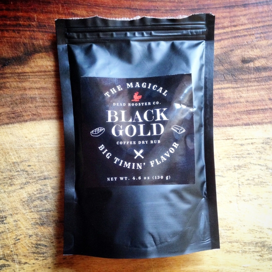 Man Fuel Food Blog - Dead Rooster Co Black Gold Rub