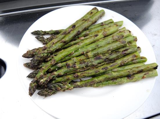 Man Fuel - Food Blog - Grilled Asparagus