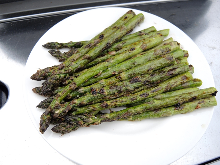 Man Fuel - Food Blog - Grilled Asparagus