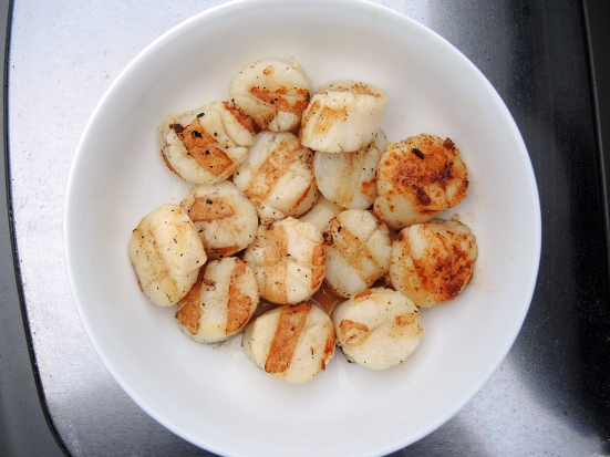 Man Fuel - Food Blog - Grilled Scallops