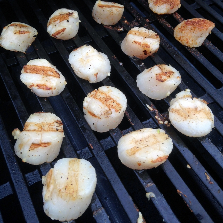 Man Fuel - Food Blog - Grilling Scallops