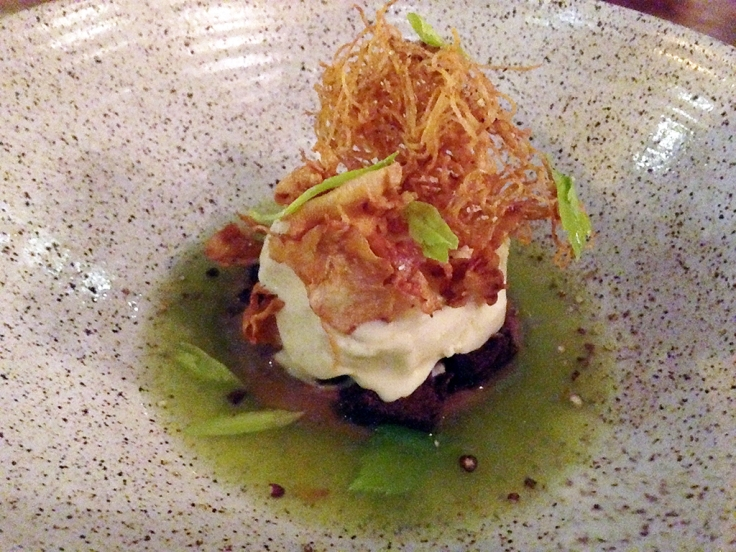 Man Fuel Food Blog - Townsman - Boston, MA - Celery Dessert