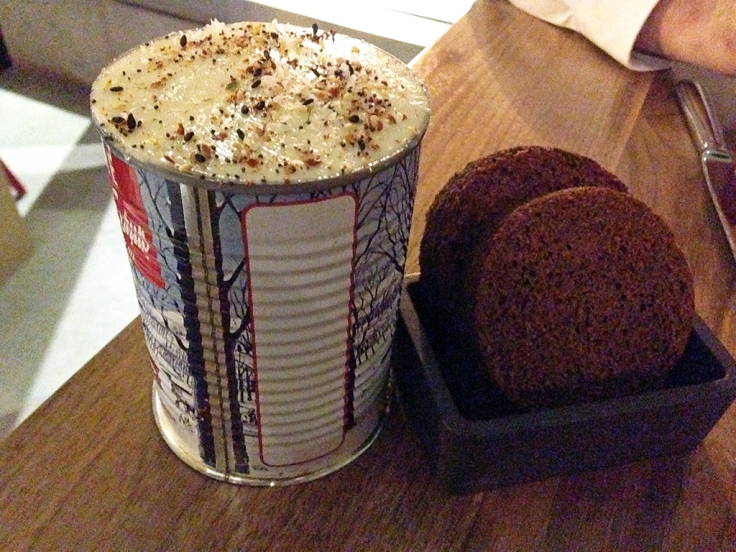 Man Fuel Food Blog - Townsman - Boston, MA - House Brown Bread in a Can