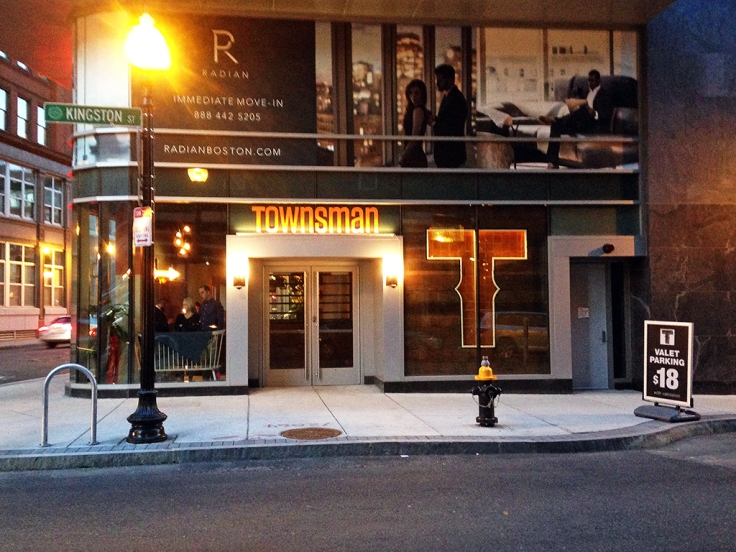Man Fuel Food Blog - Townsman - Boston, MA