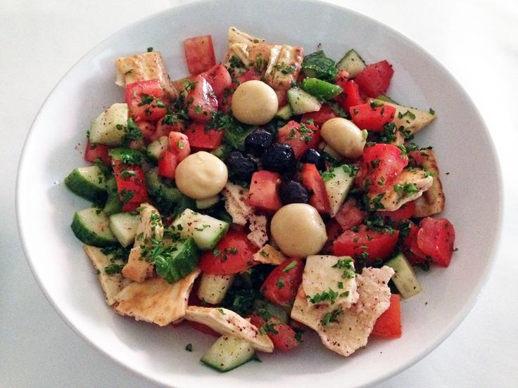 Man Fuel Food Blog - Camelia of Istanbul - East Providence, RI - Fatoosh