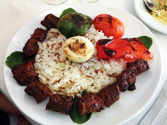 Man Fuel Food Blog - Camelia of Istanbul - East Providence, RI - Lamb Kabobs
