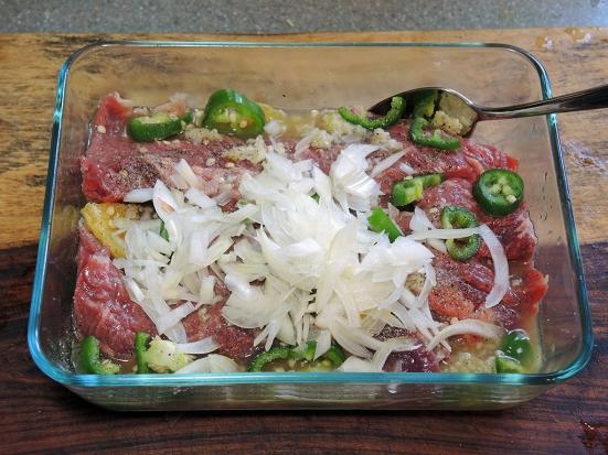 Man Fuel Food Blog - Carne Asada Marinade for Skirt Steak or Flank Steak