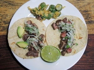 Man Fuel Food Blog - Carne Asada Tacos with Citrus Marinade