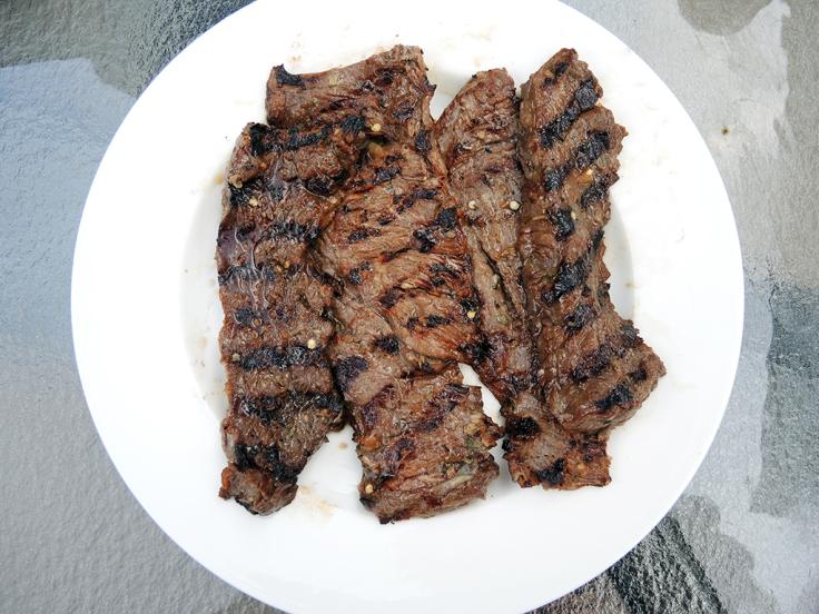 Man Fuel Food Blog - Carne Asada using Skirt Steak