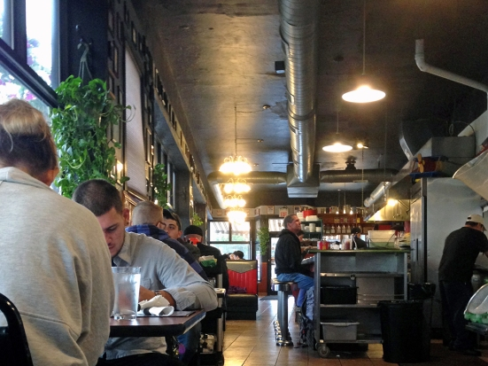 Man Fuel Food Blog - Classic Cafe Interior - Providence, RI