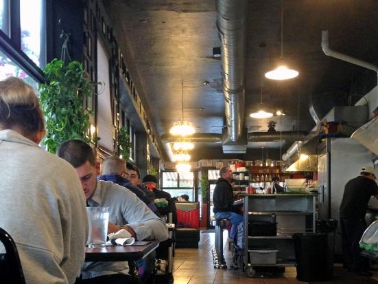 Man Fuel Food Blog - Classic Cafe Interior - Providence, RI