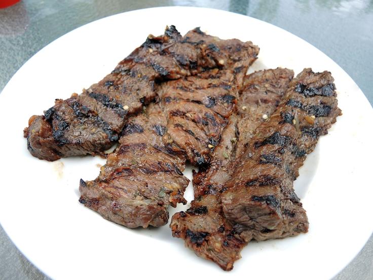 Man Fuel Food Blog - Grilled Carne Asada