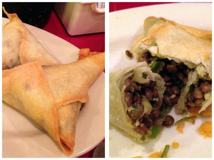Man Fuel Food Blog - Abyssinia - Providence, RI - Sambussas