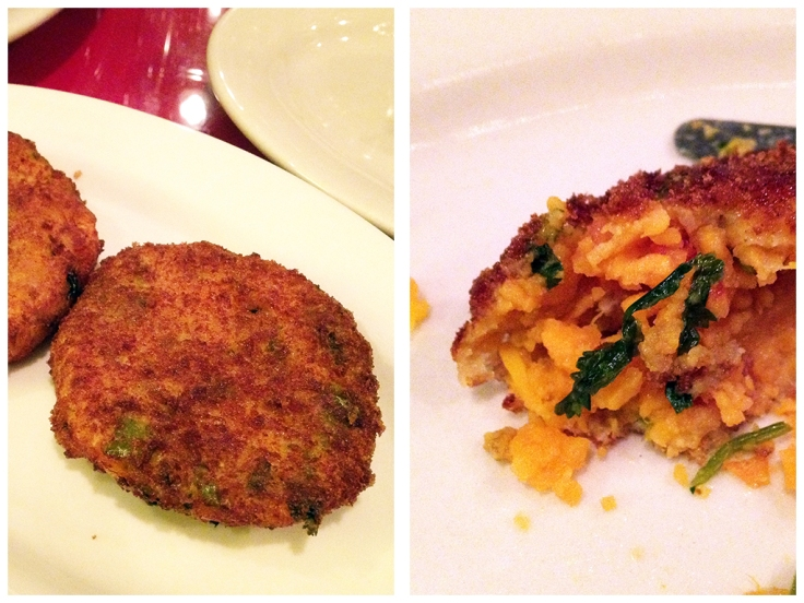 Man Fuel Food Blog - Abyssinia - Providence, RI - Sikwar Dinich Tibs - Sweet Potato Cakes