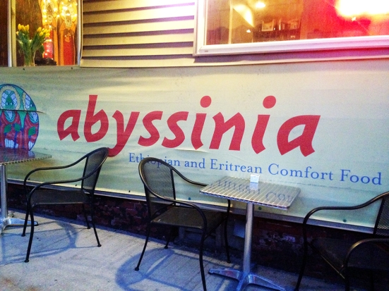 Man Fuel Food Blog - Abyssinia - Providence, RI