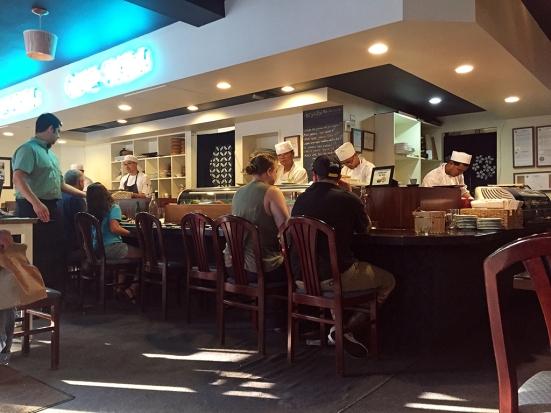 Man Fuel Food Blog - Cafe Sushi - Cambridge, MA - Interior