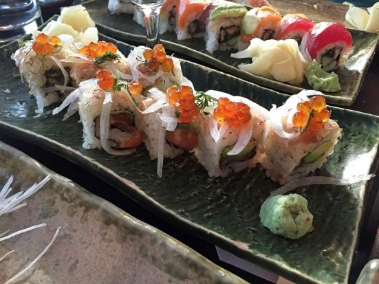 Man Fuel Food Blog - Cafe Sushi - Cambridge, MA - Salmon Maki