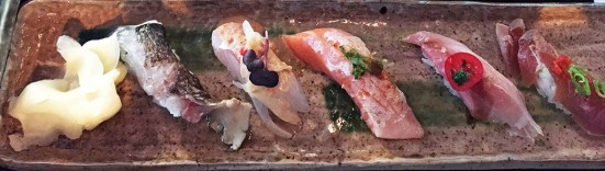 Man Fuel Food Blog - Cafe Sushi - Cambridge, MA - Sampler Plates - Copy
