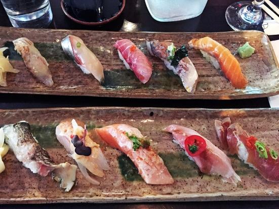 Man Fuel Food Blog - Cafe Sushi - Cambridge, MA - Samplers