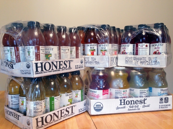 Man Fuel Food Blog - Honest Tea Review