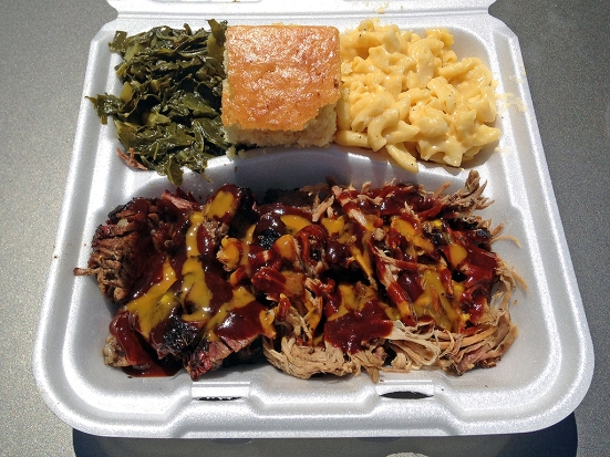 Man Fuel Food Blog - Kinfolks Award Winning BBQ - Taunton, MA - Brisket and Pulled Pork
