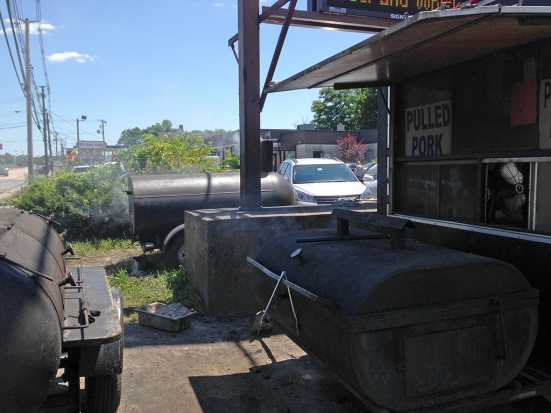 Man Fuel Food Blog - Kinfolks Award Winning BBQ - Taunton, MA - smokers