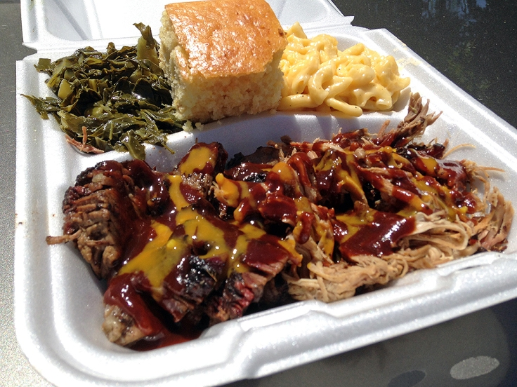 Man Fuel Food Blog - Kinfolks Award Winning BBQ - Taunton, MA - Two Meat Plate