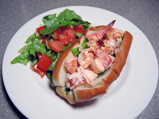 Man Fuel Food Blog - New England Style Lobster Roll Recipe