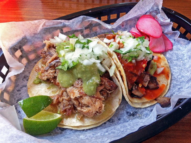 Man Fuel Food Blog - Tallulah's Taqueria - Providence, RI - Carnitas and Lengua Tacos