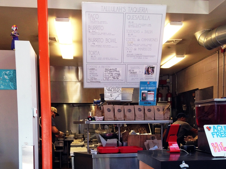 Man Fuel Food Blog - Tallulah's Taqueria - Providence, RI - Interior
