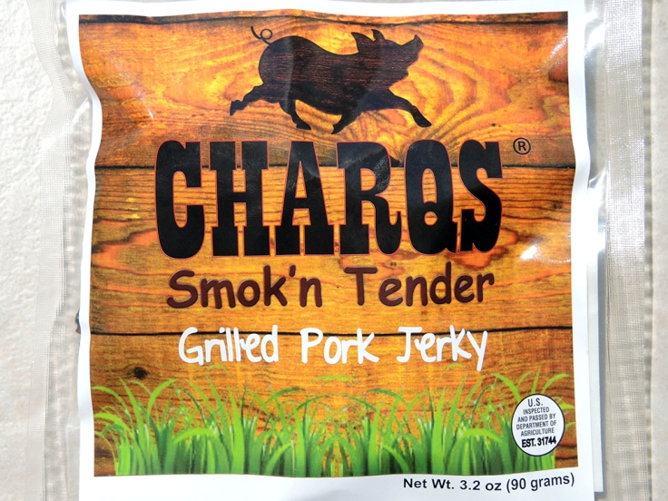 Man Fuel Food Blog - Charqs Smok'n Tender Grilled Pork Jerky