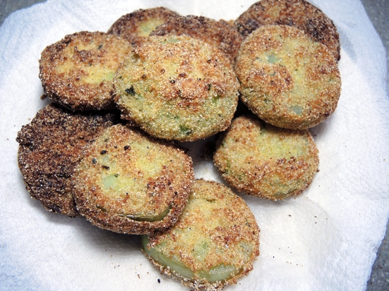 Man Fuel Food Blog - Fried Green Tomatoes Recipe