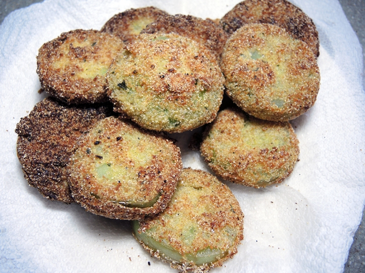 Man Fuel Food Blog - Fried Green Tomatoes Recipe