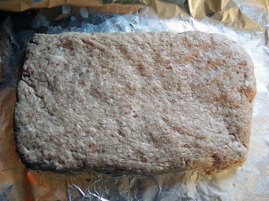 Man Fuel Food Blog - Ground Beef for Gyros as a Loaf